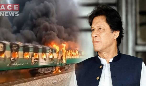 PM Imran, Others Express Grief Over Train Fire Incident