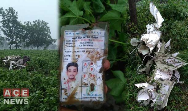 Two Pilots Killed as Indian Army's Plane Crashes In Telangana