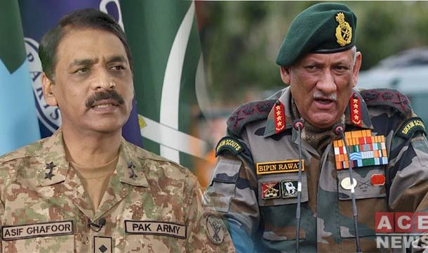 DG ISPR Condemns Indian Army Chief's Ridiculous Statements