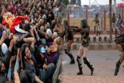 4 Kashmiris Including Woman Martyred by Indian Troops in Srinagar