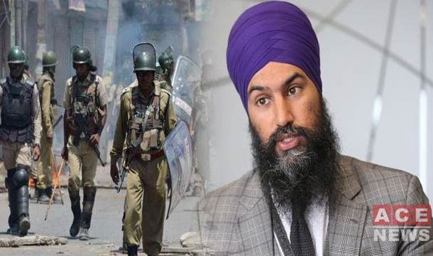 Sikh-Canadian Leader Denounce Indian Actions In Occupied Kashmir