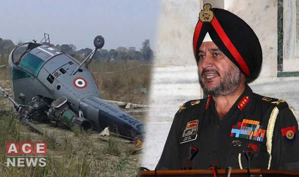Indian Army's Helicopter With Top Military Official On Board Crashes