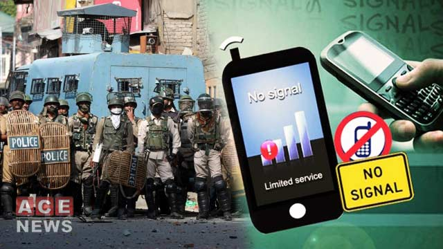 Indian Authorities Again Block SMS Services In Occupied Kashmir