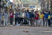 Kashmiri Youth Issues Anti-India Protests Calendar