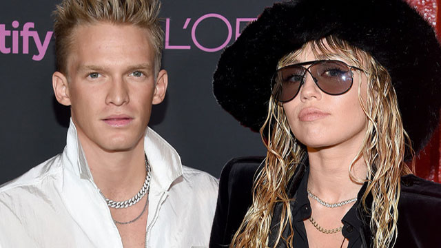 Miley Cyrus Makes Relationship With Cody Simpson Insta Official