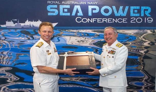 Naval Chief Represents Pakistan At Sea Power Conference In Australia
