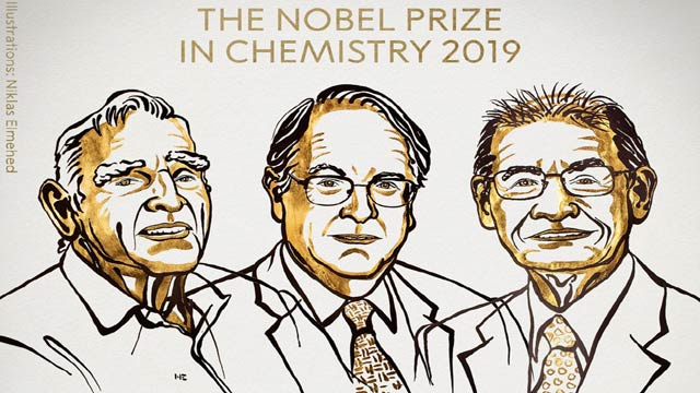 Nobel Prize In Chemistry Awarded For 'Research On Lithium-Ion Batteries'
