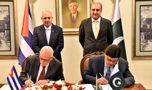 Pakistan, Cuba Sign Agreement To Partially Withdraw Visa Condition