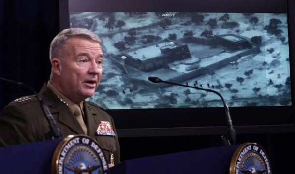 Pentagon Releases Video Of Attack On Al-Baghdadi