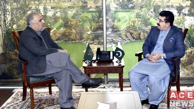 Speaker NA , Chairman Senate Meet to Discuss ECP Members Appointment Case