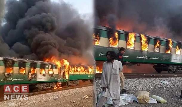 Death Toll From Train Fire Rises To 73, Several Injured
