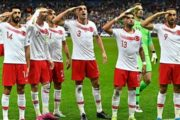 Turkish Players Salute Syria Operation After Goal Against France