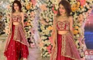 Aima Baig Looks Stunning in Red Bridal Dress for Her 'Yar Ki Shaadi'