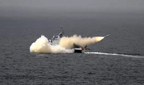 Pakistan Navy Successfully Test-Fires Anti Ship Missile