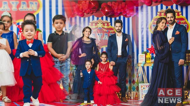 Daughter of Ayeza Khan Encourages People to Wash the Hands