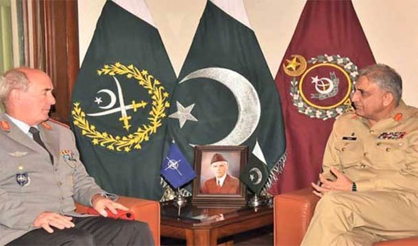 COAS Bajwa, NATO DG-IMS Discuss Regional Peace and Security