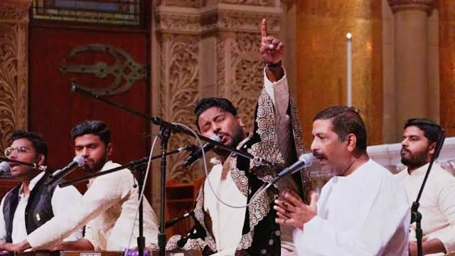 Hamza Akram Qawwal & Brothers' Performance at Stanford Memorial Church Leaves People Spell Bound