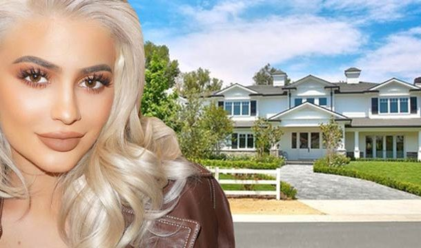 Kylie Jenner's Fancy Mansion in Los Angeles, Worth $12M