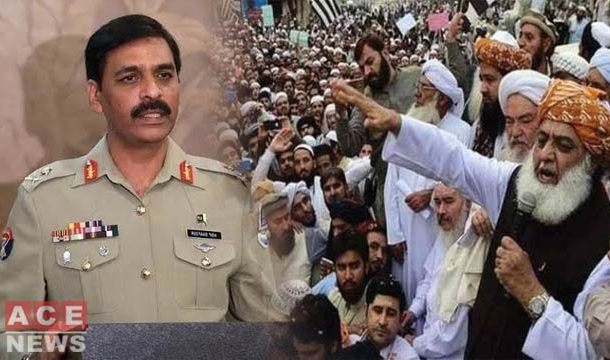 DG ISPR Again Rejects Army's Involvement In Political Activities