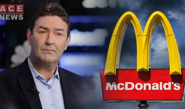 McDonald's Chief Executive Fired After Dating Employee