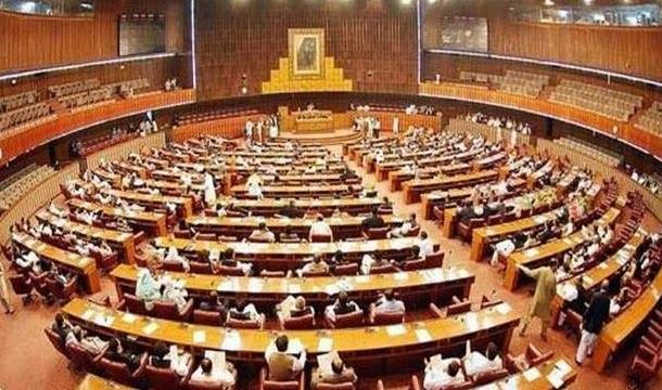 NA Passes 11 Bills Amid Opposition's Protest, Chaos