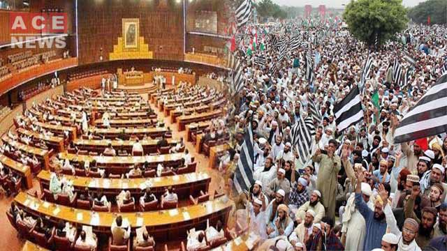 Political Arena Heats Up Over Azadi March Discussion in NA Session