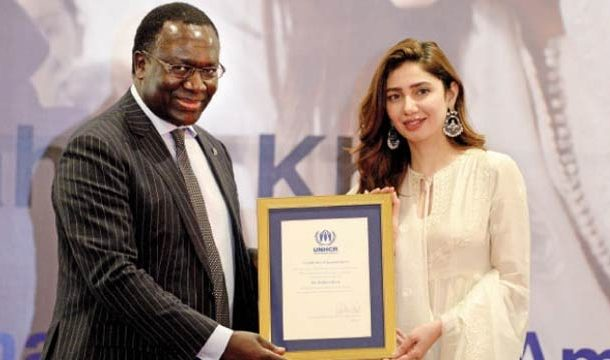 UNHCR Appoints Mahira Khan As its Goodwill Ambassador for Pakistan