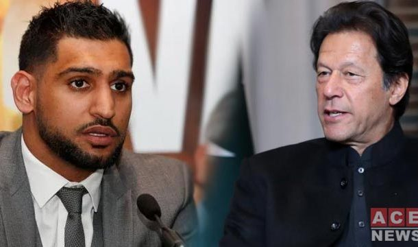 Unhappy Boxer Amir Khan Says, PM Imran Did Nothing for Sports