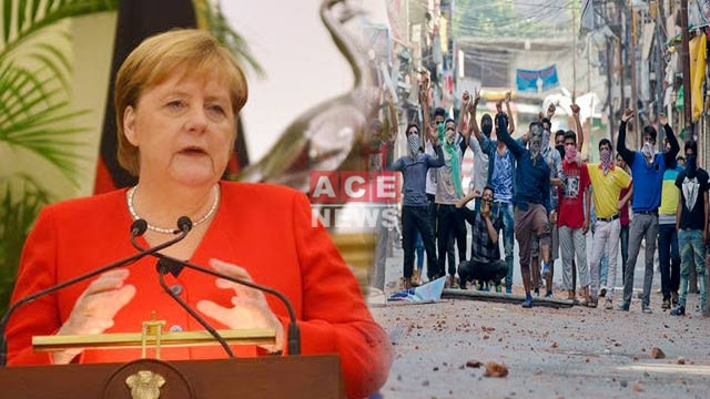 German Chancellor Terms Current Situation In Kashmir As Unstable