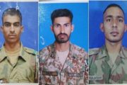Three Soldiers Martyred in North Waziristan Blast