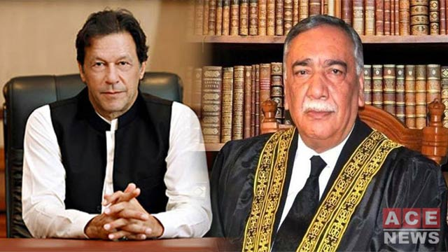 CJP Khosa Strongly Reacts to PM's Judiciary Related Remarks