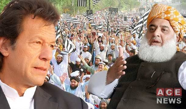 Fazl Fires Off New Tirade Against PM Imran Khan
