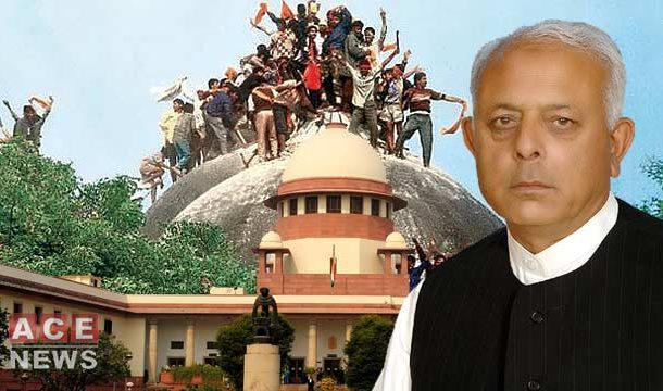 Interior Minister Object Timing of Babri Mosque Verdict