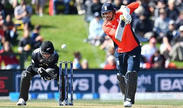 England Stuns New Zealand In First T20I