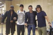Football Legends Ricardo Kaka, Luis Figo, Carles Puyol, and Nicolas Anelka have Arrived in Pakistan