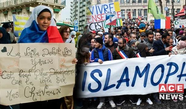Over 13,000 People Join March Against Islamophobia in France