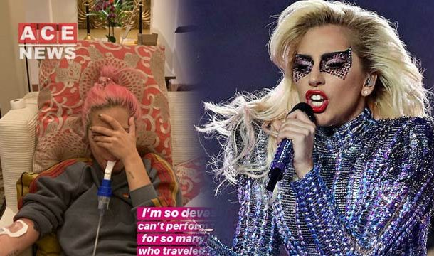 Lady Gaga Too ill To Perform