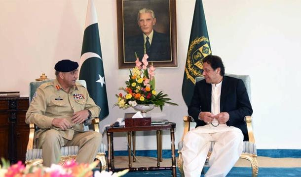 PM Khan, COAS Bajwa Discuss Overall Security Issues