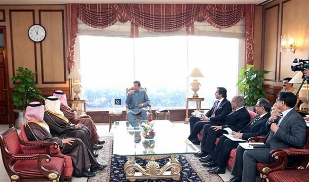PM, Saudi Prince Discuss Matters of Mutual Interest