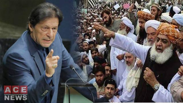PM Imran Blasts Opposition Over Azadi March, NRO
