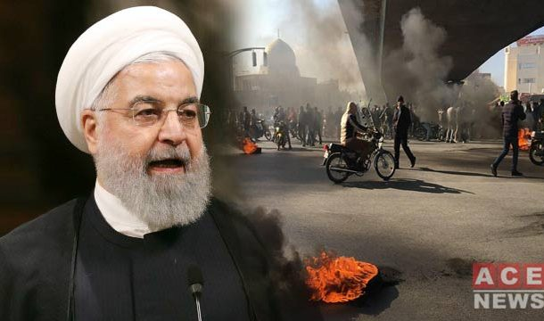 Iranian President Warns Strict Action Against Fuel Protests