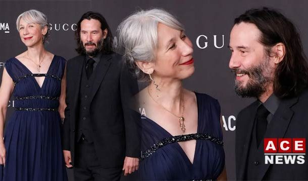 Name of Mysterious Woman Holding Keanu's Hand?
