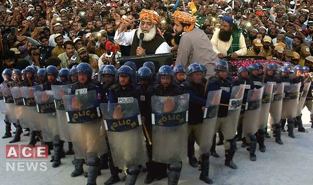 JUI-F's Plan B Takes Protests Nationwide