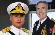 Naval Chief Visits Britain, Discuss Cooperation Between Two Naval Forces
