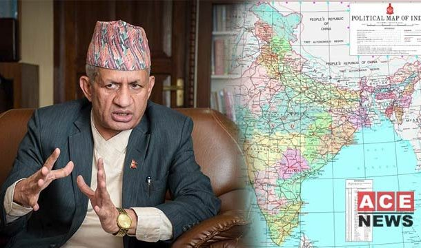 Nepal Objects To New India Map