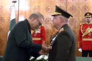 President Confers 'Nishan-e-Imtiaz' Upon Turkish Army Chief