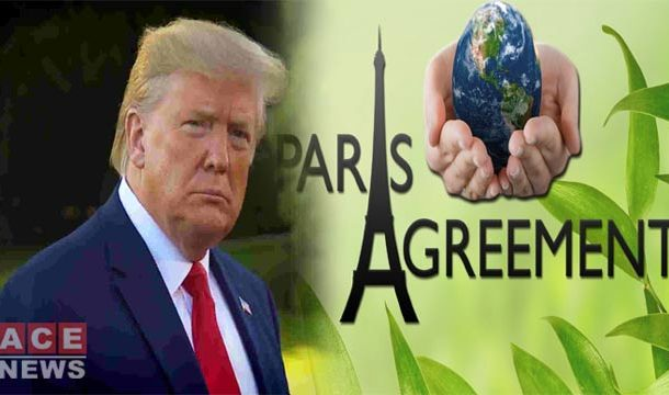 US Serves Notice to Leave Historic Paris Climate Agreement