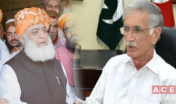 Khattak Challenges Fazl To Bring Proof Of Election Rigging