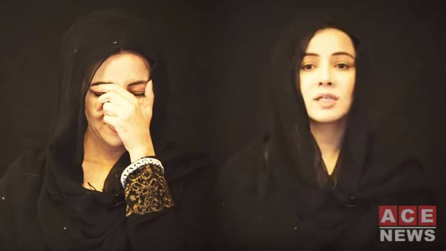 Rabi Pirzada Makes Her First Appearance After Controversial Videos