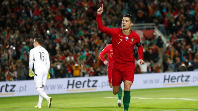 Ronaldo's Hat-Trick Puts Portugal to Verge of Finals